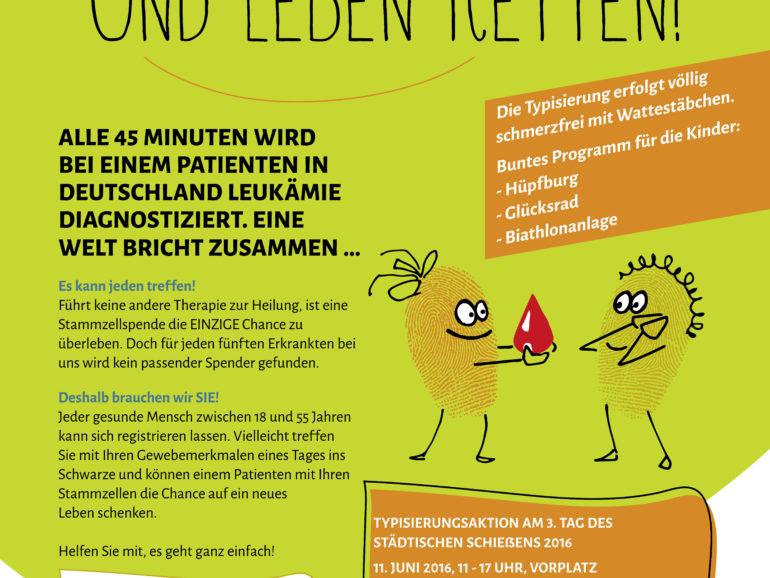 Hannovers Schützen unterstützen den Kampf gegen Blutkrebs: Volltreffer – für die Chance auf ein neues Leben!