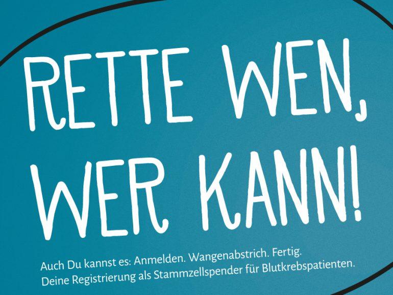 """Kampagne """"Rette wen, wer kann!"""""""