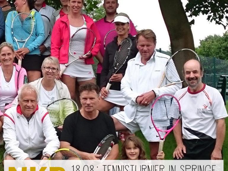Tennisturnier zum (zweiten) 10. Geburtstag
