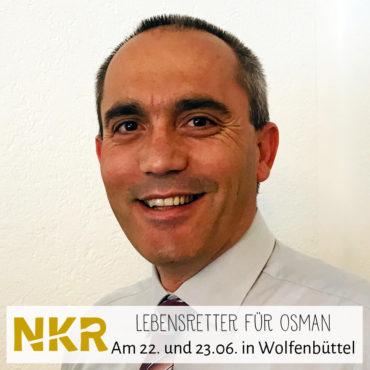 Registrierung für Osman Emrem in Wolfenbüttel