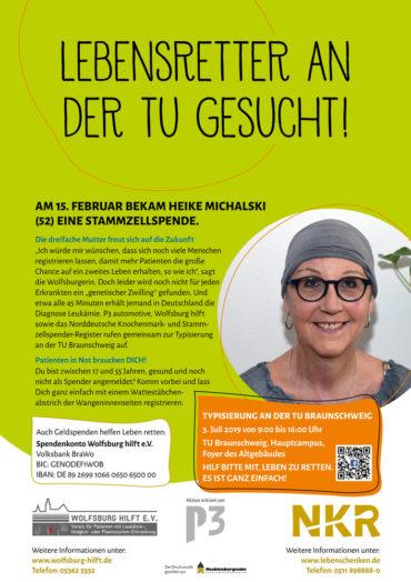 Lebensretter an der TU Braunschweig gesucht!