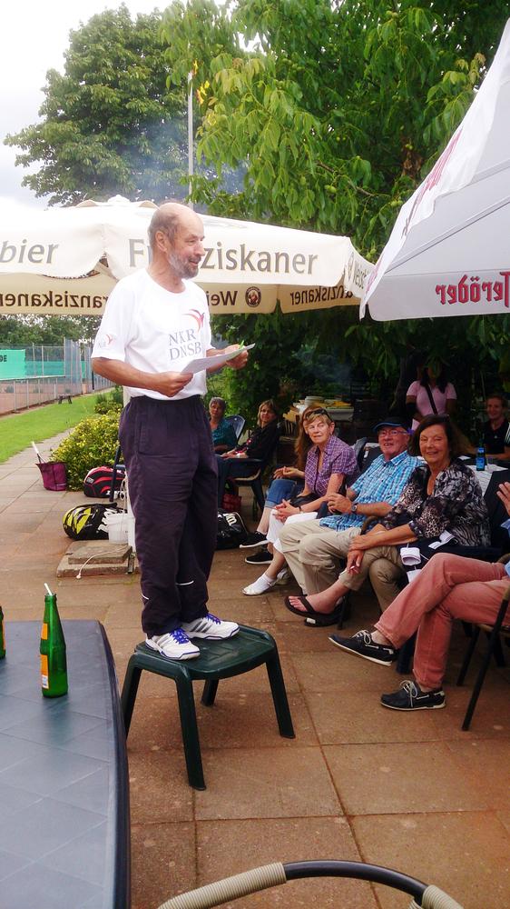 Benefiz-Tennisturnier zugunsten des NKR