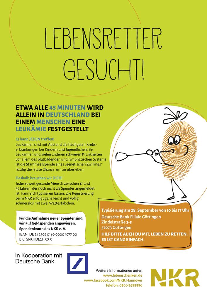 Lebensretter in Göttingen gesucht