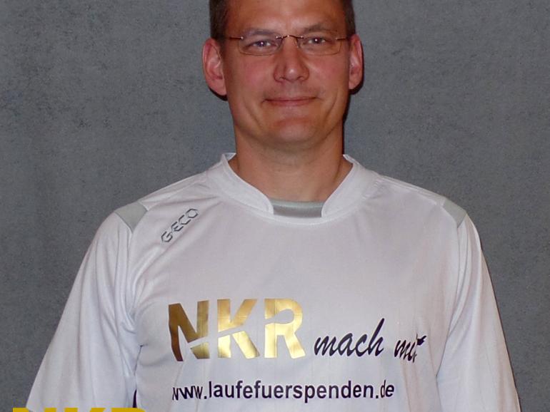 """Björn Steffen wirbt """"laufend"""" für Spenden und Spender"""