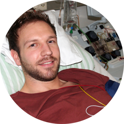 Jonas Hörning, Stammzellspender aus Stadtoldendorf