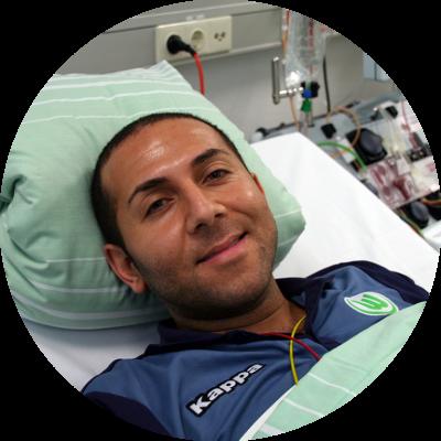 Christian Nesser, Stammzellspender aus Sehnde